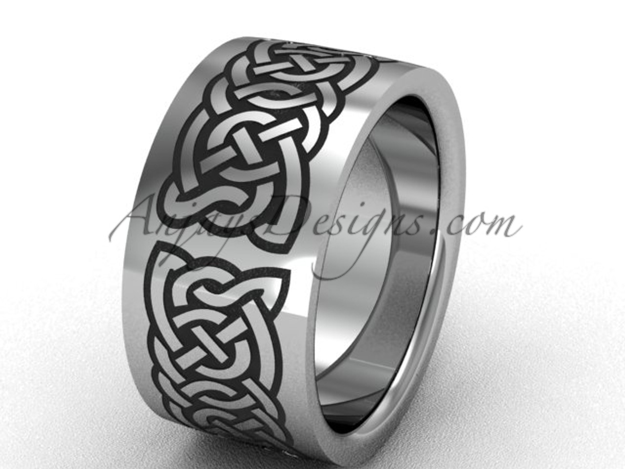 f500f6d68 Platinum wedding band for men, beautiful bridal ring SGT607