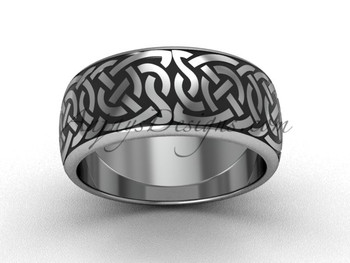 Cool Wedding Rings.8 35 Mm Wide Cool Wedding Band 14kt White Gold Bridal Ring Sgt649g