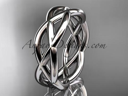 platinum wedding band ADLR392G