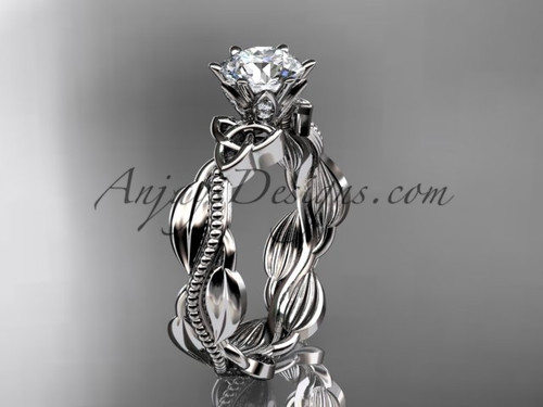 platinum diamond celtic trinity knot wedding ring, engagement ring CT7258