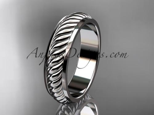 platinum wedding band ADLR399G