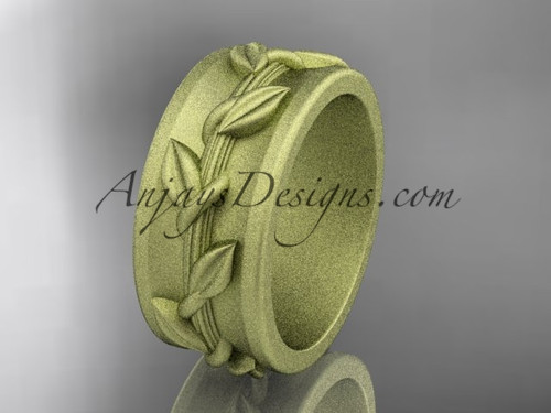 Wedding Ring Designs for  women in yellow Gold ADLR417G