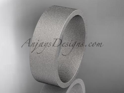 matte finish platinum 7mm  comfort fit ring WB50307G