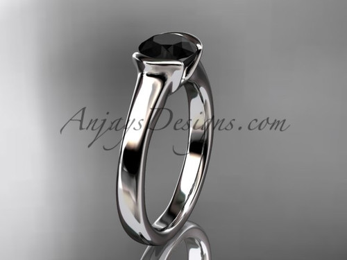 Unusual Wedding Rings White Gold Proposal Ring VD10016