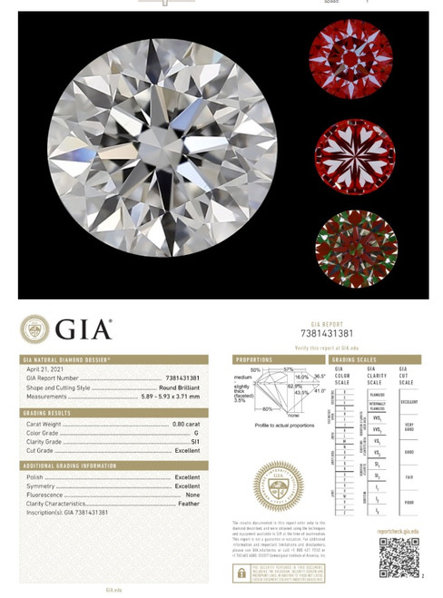 GIA Cert Diamond