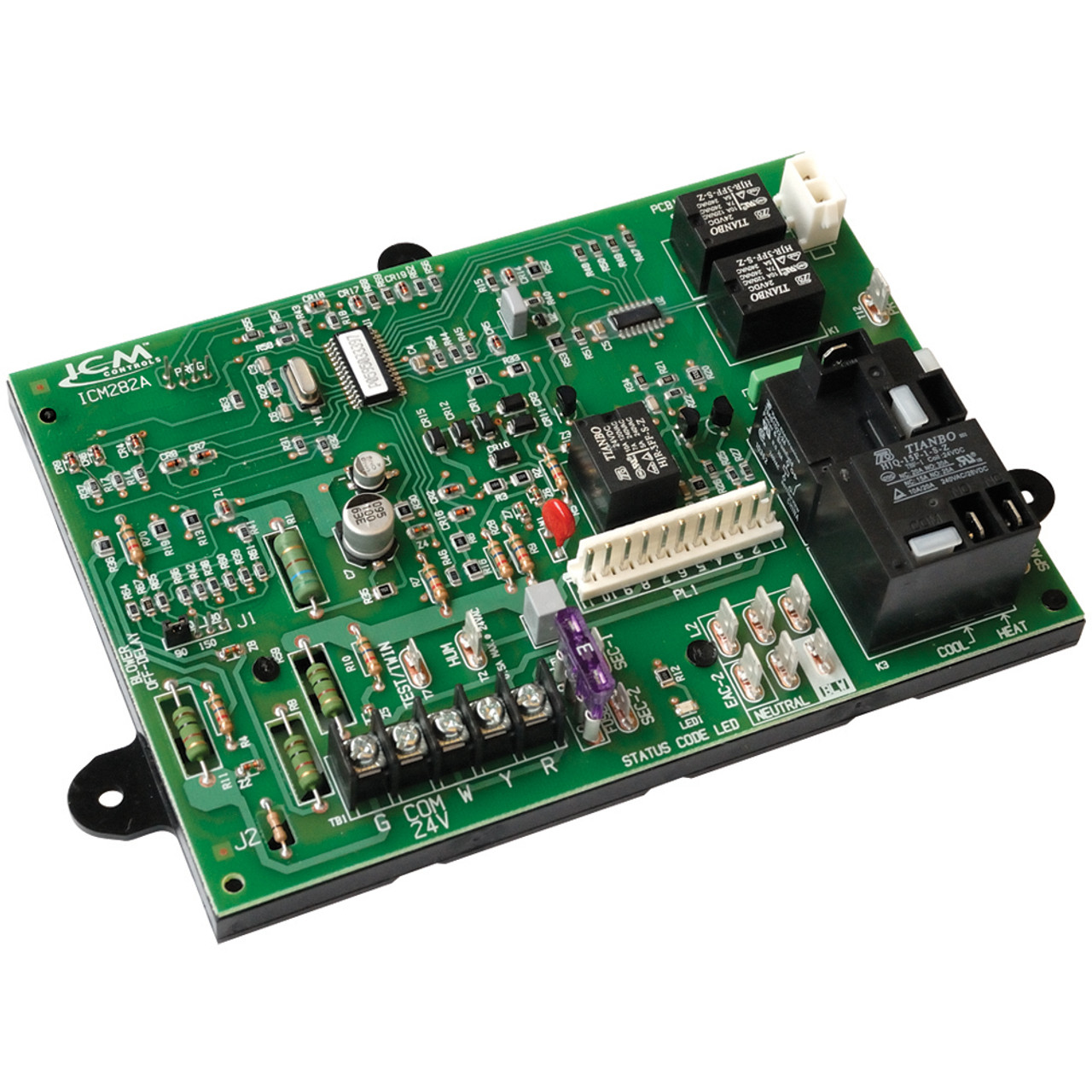 [DIAGRAM_38ZD]  Carrier Bryant Payne furnace control board ICM282A | Bryant Defrost Circuit Board Wiring Diagram |  | AC Unit Parts