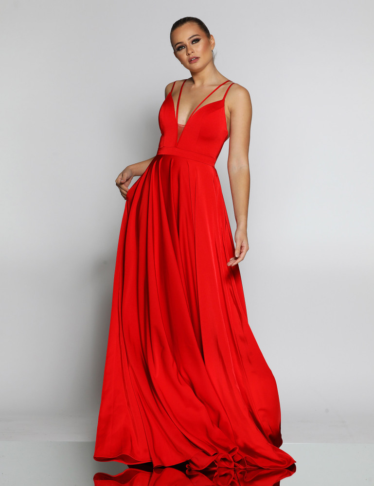 SAMI GOWN RED - JADORE