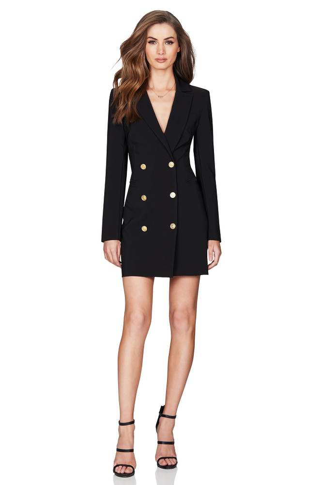 MILANO BLAZER DRESS - NOOKIE