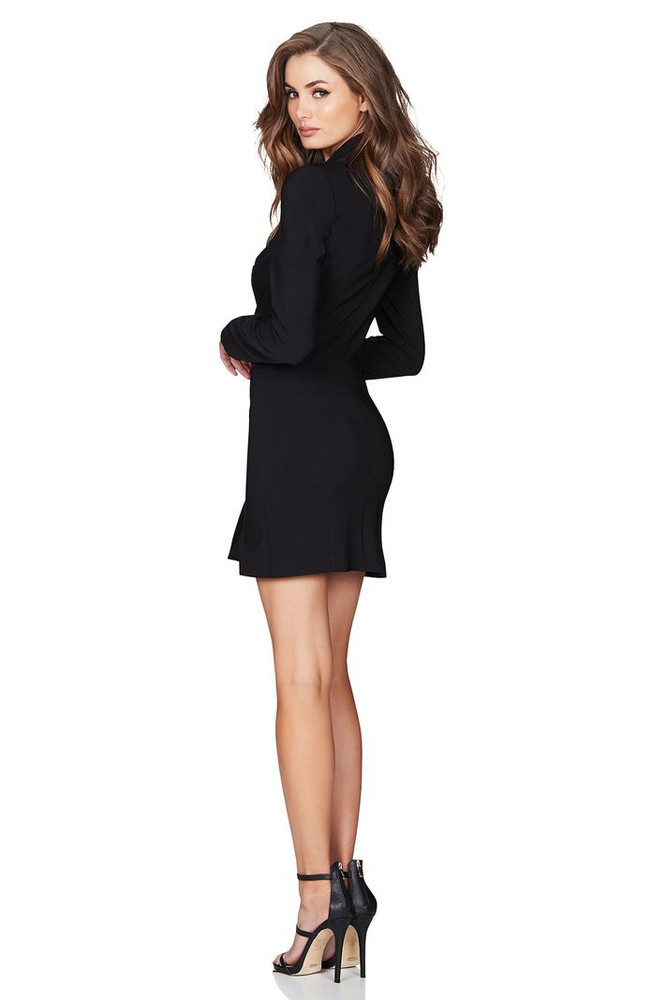 MILANO BLAZER DRESS BLACK - NOOKIE