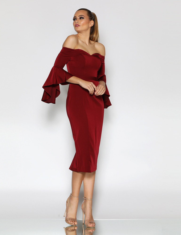 GINA DRESS WINE - JADORE