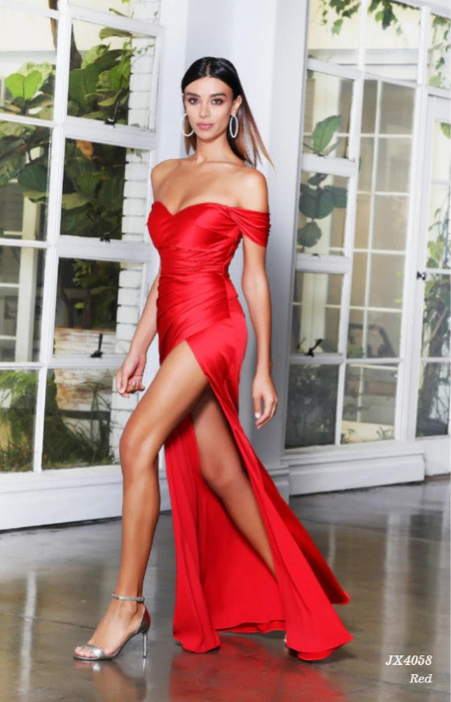 MISHA GOWN -  RED