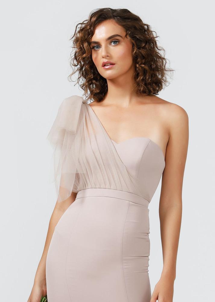 MARISSA ONE SHOULDER TULLE DRESS