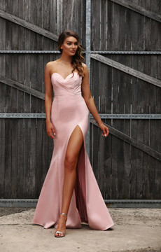 SAHARA GOWN DUSTY PINK - JADORE JX3033