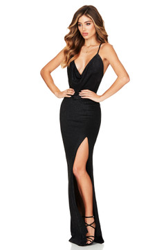BLACK DREAMLOVER GOWN - NOOKIE