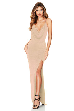 GOLD DREAMLOVER GOWN - NOOKIE
