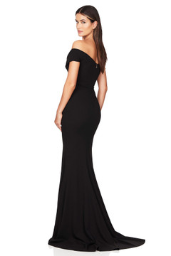 NEPTUNE GOWN BLACK - NOOKIE