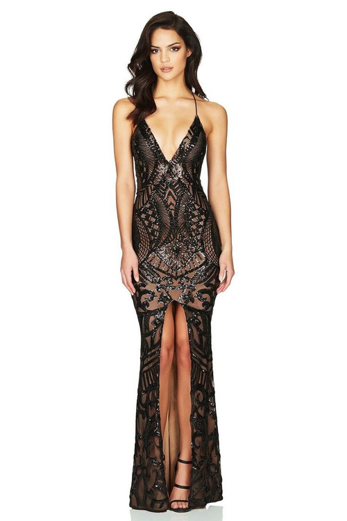 MON CHERIE SEQUIN GOWN - NOOKIE