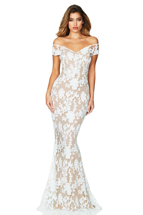 ENCHANT GOWN WHITE - NOOKIE