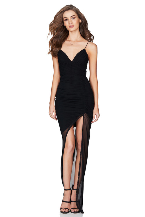 MOSCOW GOWN BLACK - NOOKIE