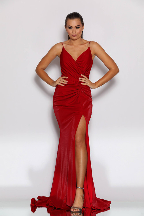 PARIS GOWN RED - JADORE