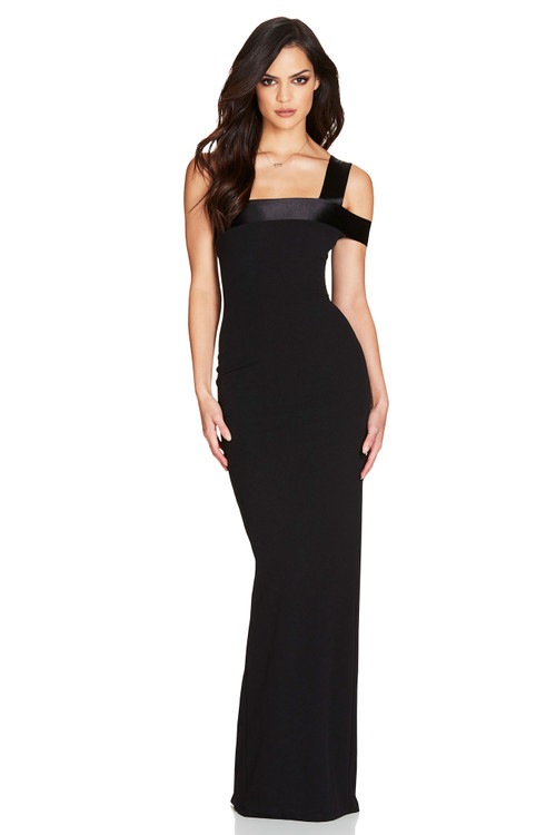 ALIAS GOWN BLACK - NOOKIE