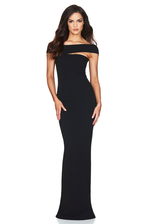 TYLER GOWN BLACK - NOOKIE
