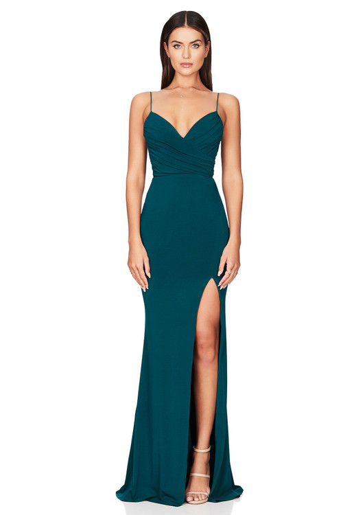 VENUS GOWN TEAL - NOOKIE