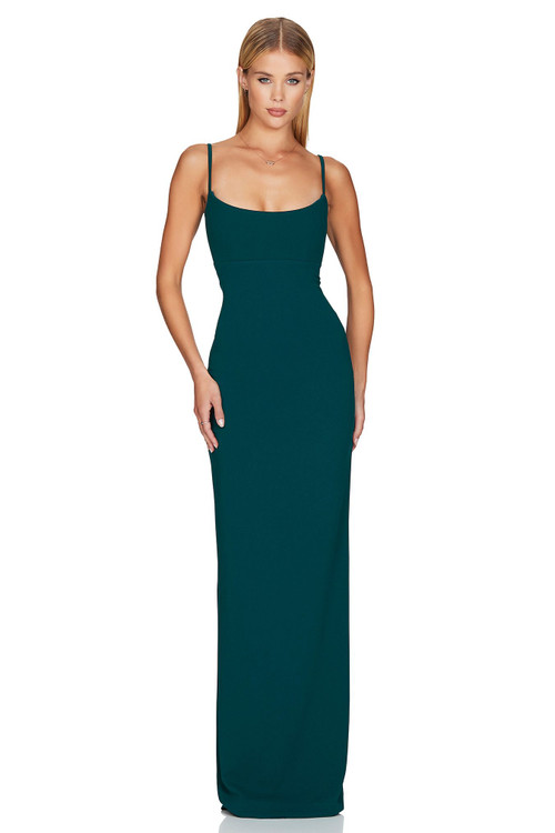 TEAL BAILEY GOWN - NOOKIE