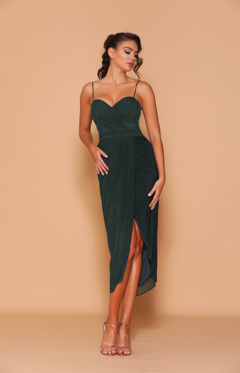 TORI EMERALD DRESS LD1117 - LES DEMOISELLE