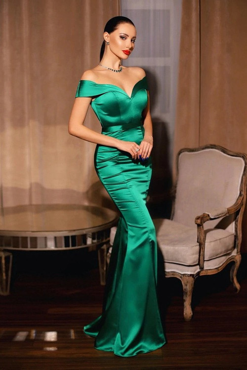 SHARLENE GOWN - EMERALD