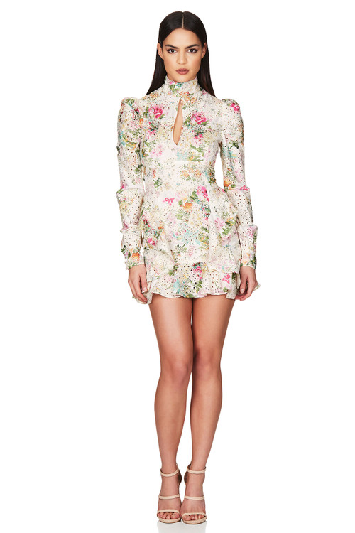 FLORAL DARLING LONG SLEEVE