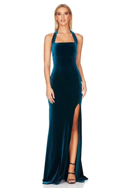 VERA GOWN TEAL