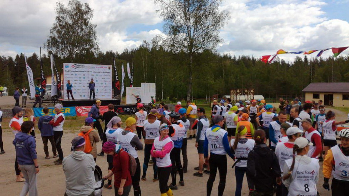 Red Fox Adventure Race 2019 has started!