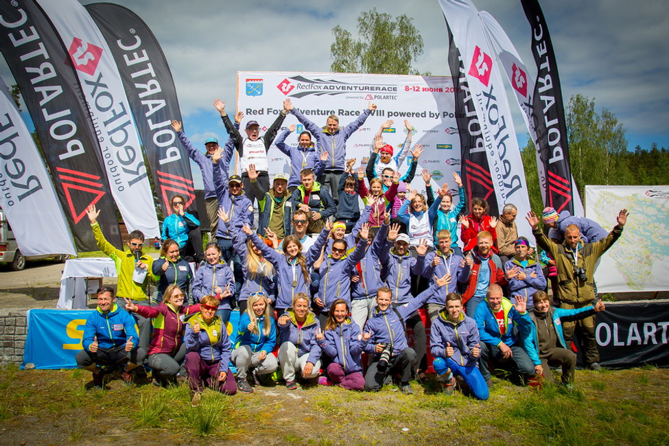 Awarding ceremony of the 2019 Red Fox Adventure Race Awards Ceremony. Testing limits is done.