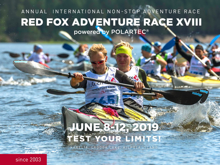 Venue and date of the 2019 Red Fox Adventure Race is known!