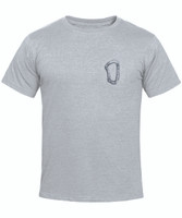 Carabiner t-shirt men's