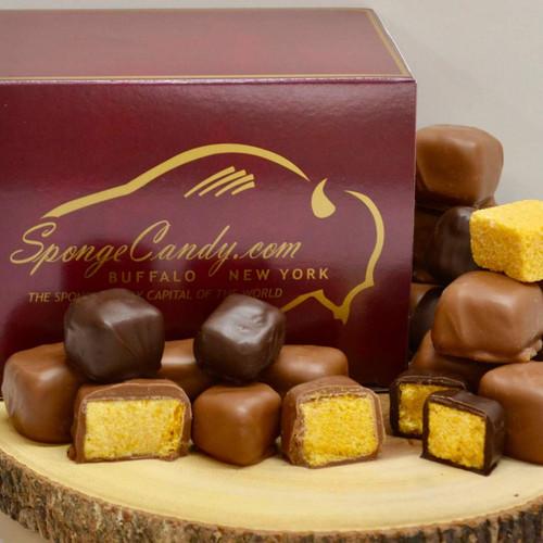 Milk Peanut Butter Sponge Candy