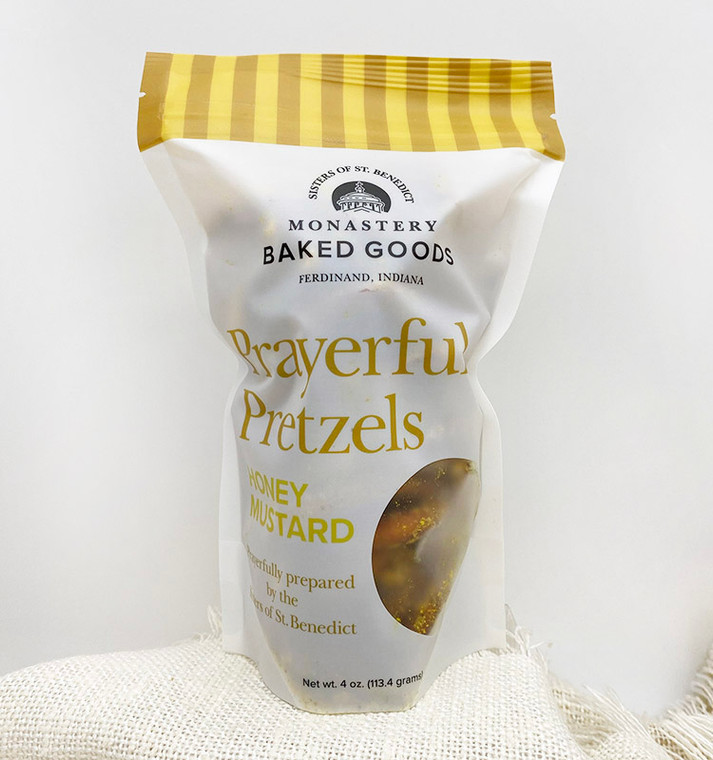 Prayerful Pretzels: Honey Mustard (4-ounce)