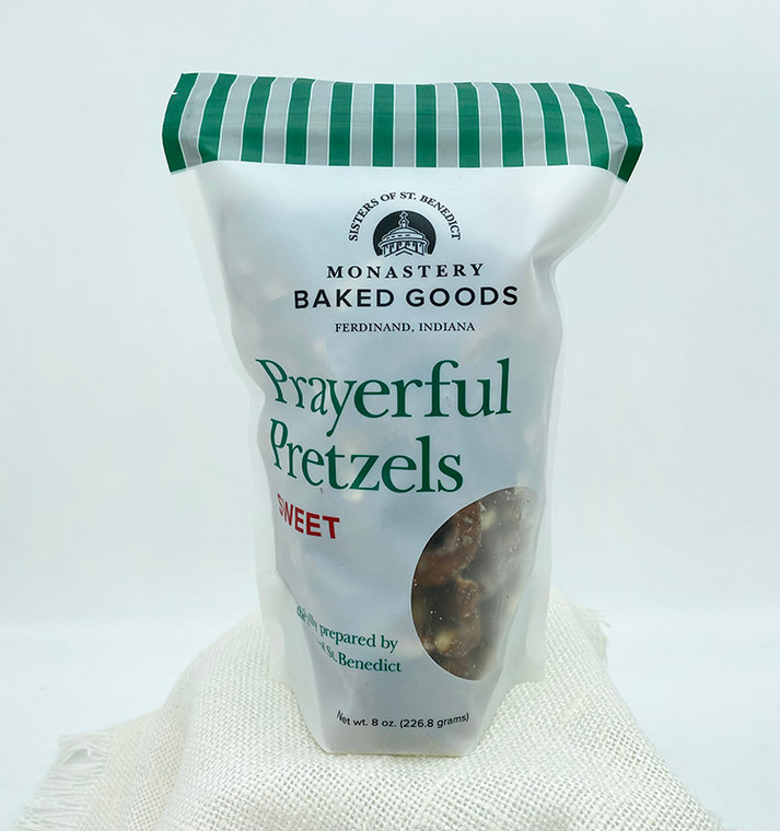 Prayerful Pretzels: Sweet in Christmas Packaging (8-oz)