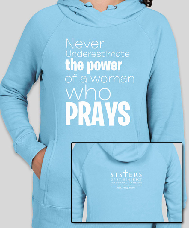 Woman Who Prays Hoodie (X-Small)