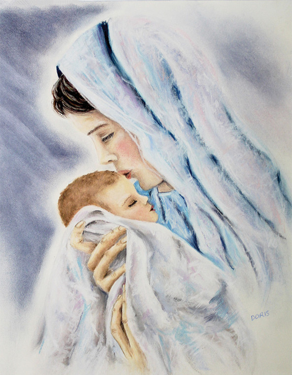 Kissing the Face of God Notecard Set of 6