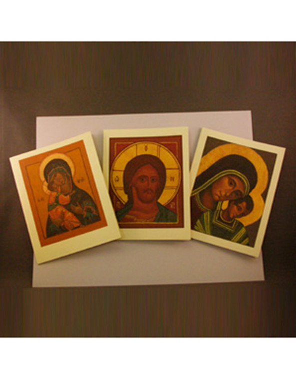 Icon Notecard Set of 6 (by Sister Jeana VIsel)