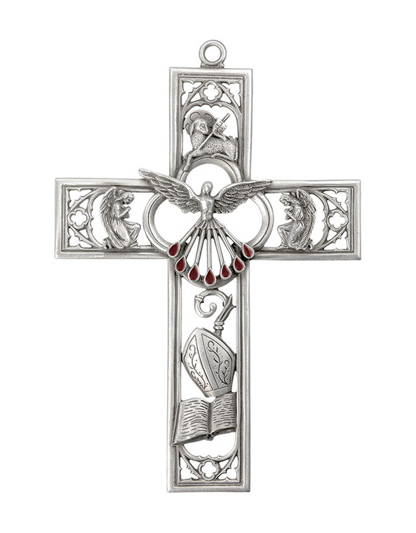 Pewter Confirmation Cross