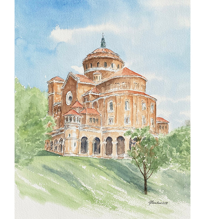 The Dome Limited Edition Print by Sister Jane Becker