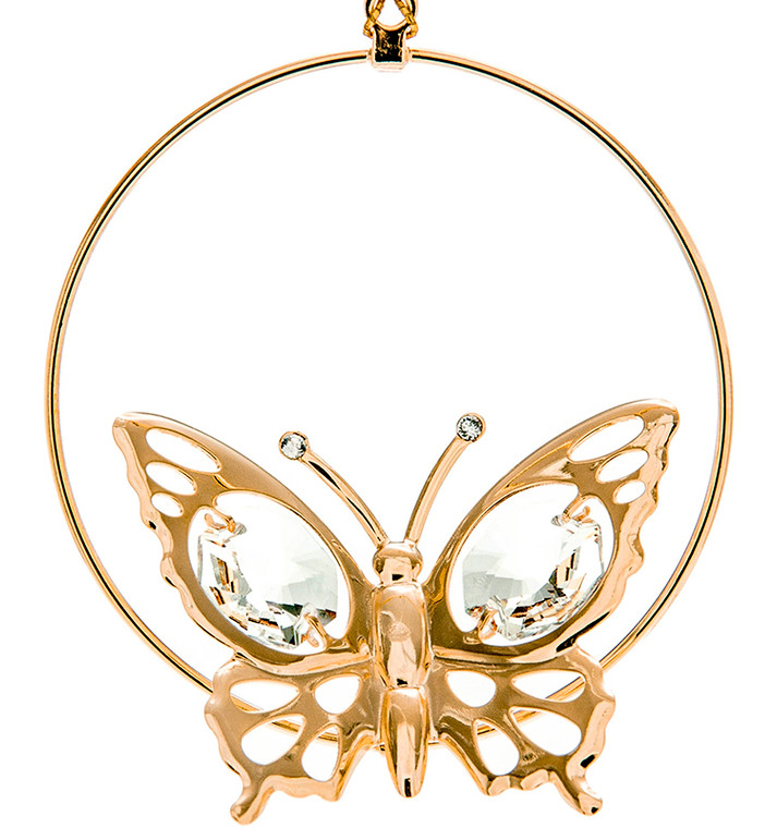 Butterfly Gold Ornament