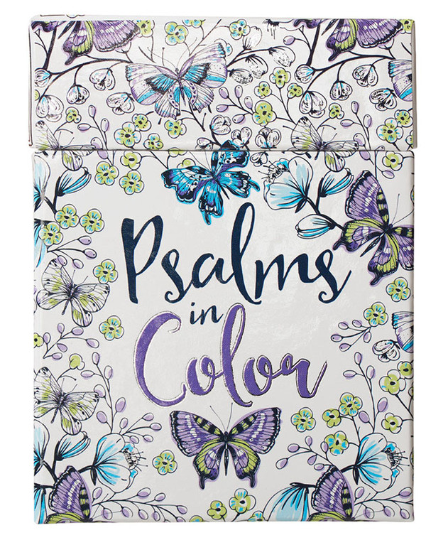 """""""Psalms in Color"""" Coloring Cards"""