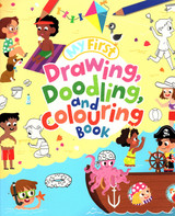My First Drawing Doodling and Colouring Book