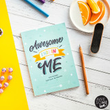 AWESOME INC. Resilient ME Gratitude Journal for Kids ~ AWESOME ENDS IN ME