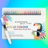 Life of Colour Watercolour Brush Pens