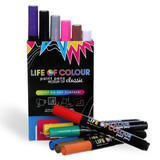 Life of Colour Paint Pens ~ Classic Colours (3mm Medium Tip)